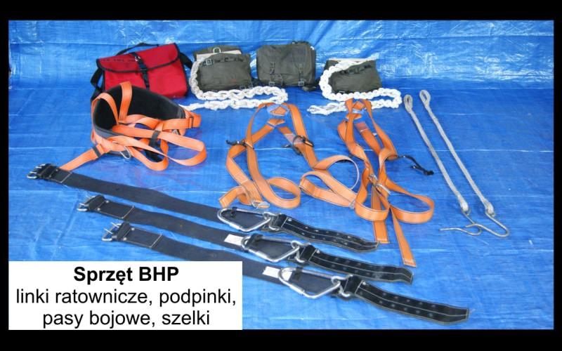 sprzęt BHP
